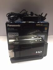 Panasonic HDC-HS60K 120GB FULL HD Camcorder Black HARD DRIVE BUILT IN HDD