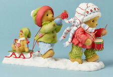Cherished Teddies~LYNDELL & KINSLEY~2014 EXCLUSIVE FIGURINE~ SALE~FREE SHIP