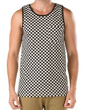 Vans Vicente Tank Top Black & White Checkerboard Shirt