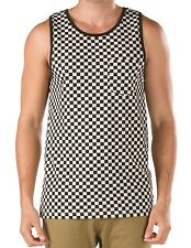 Vans Black & White Checkerboard Tank Top Shirt