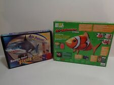 NEW Animal Planet Air Swimmers Extreme Radio Control Giant Flying Clown Fish