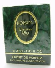 Christian Dior POISON Esprit De Parfum Soft Perfume Concentration 1OZ 30ML RARE