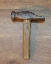 Old Used Tool,Antique Hand Forged Hammer,1lb.4.5oz,Good Condition,Beautiful Form