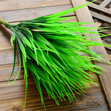 Artificial 2016 7 fork Green Grass Flowers Plants Household Decoration Party