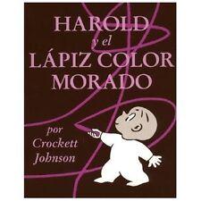 Harold y el Lapiz Color Morado (Harold and the Purple Crayon)-ExLibrary