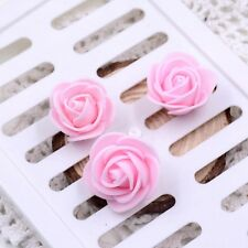 Mini Foam 3cm Roses- Wedding Craft Flower Party Decoration Favour- 10 Colours