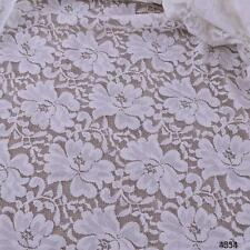 2yards wide 150CM flower design stretch lace fabric for diy dress craft sewing