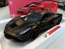Bburago Signature 1/18 - Ferrari LaFerrari Matt Black