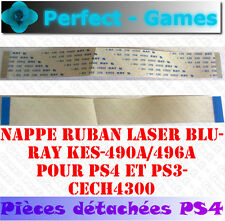 nappe ruban cable flex laser lens ribbon KES-490A 496A SONY PS4 PS3 CECH-4300