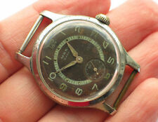 '1950s Early soviet MAJAK watch 1st MWF Military Black Dial *SERVICED*