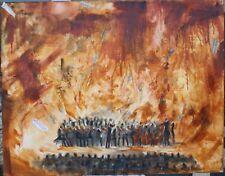 TAT VILÀ  - Oleo sobre tela 146  x 114 cm. SERIE DO RE MI