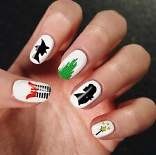 Nail Art Wizard Of Oz Set 3D DIY Disney Colorful Water Transfer Design Stickers