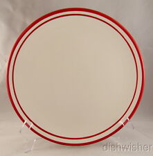 "Dansk CIRCA RED Dinner Plate(s) 10 7/8"" NEW WITH STICKER"