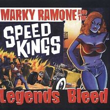 """MARKY RAMONE and THE SPEED KINGS """"Legends Bleed"""" CD"""