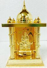 "High Quality Brass Lord Shirdi Sai Baba Golden Temple Baba Statue 6 "" / 15cm"