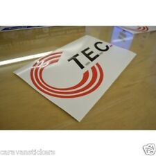 TEC - (STYLE 3) - Caravan Roof Logo Sticker Decal Graphic - SINGLE