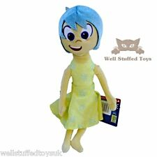 "Joy Inside Out Character 12"" Disney Licensed Soft Toy Plush"