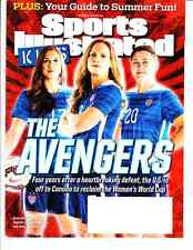June 2015 USWNT Alex Morgan Abby Wambach Sports Illustrated For Kids NO CARDS