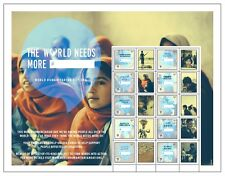 United Nations UN World Humanitarian Day 2013 Personalized Sheet Stamps