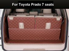 Cargo Trunk Boot Liner Mat For Toyota Prado 7 seats 2010-2016 Waterproof Carpet