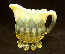 GREENER~RD:176239~VICTORIAN~PRIMROSE YELLOW~URANIUM~VASELINE~PEARLINE~GLASS~JUG