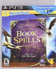 Wonderbook: Book Of Spells - Software Only [PlayStation 3 PS3, PS Move] NEW