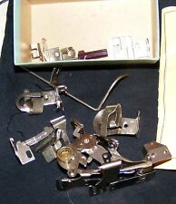 GREIST SEWING MACHINE ATTACHMENTS SPECIAL SET 10 PCS./W BOX AND INSTRUCTIONS