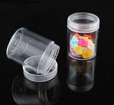 5pcs Plastic Clear Retangle Storage Container Jewelry Bead Display Boxes P016