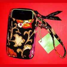 NWT Vera Bradley All in One Wristlet Wallet Cell Phone Case Suzani