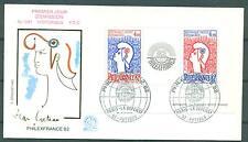 Frankreich 1962 Nr. Block 6 Erstagsbrief