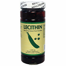 Lecithin 1200 mg 100 Softgels anti-oxidant, FRESH, Made In USA, Global Shipping