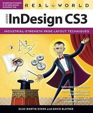 Real World Adobe InDesign CS3, Blatner, David, Kvern, Olav Martin, Good Book