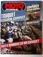 N°737 MOTO JOURNAL; Comparatif Kawa 1000 RX/ Touquet Guide complet