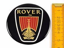 ROVER ★ 4 Stück ★ SILIKON Ø55mm Aufkleber Emblem Felgenaufkleber Radkappen