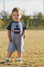 Mud Pie All Boy Collection 1st Birthday 12M 18M 1 Pc Football Shorts Set 1032195