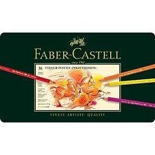 Faber Castell Polychromos Artistas De Calidad De Lápices De Colores - 36 Set-BNIB