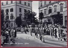 AREZZO CITTÀ 42 GIOSTRA DEL SARACINO - FOLKLORE COSTUMI FESTA POPOLARE Cartolina