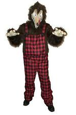 Men's Big Bad News Wolfie Wolf Animal Adult Costume