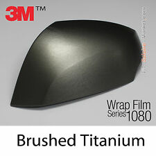 20x30cm FILM Brushed Titanium 3M 1080 BR230 Vinyle COVERING Series Wrap Film