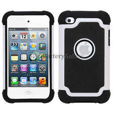 Hybrid Defender Slim Armor Hard Case Cover Skin for Apple iPod Touch 4 4th Gen