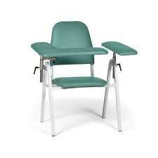 "Standard Height Blood Draw Chair Standard Width  35""W x 30""D x 37""H 1 ea"