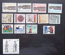 Faroe Islands 1978 Guides 1979 IYC 1980 Church Pews 1981 Writings 1983 Chess MNH