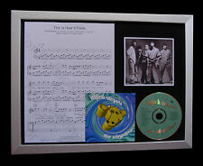 INSPIRAL CARPETS This Is How It Feels QUALITY CD FRAMED DISPLAY+FAST GLOBAL SHIP