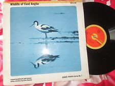 Wildlife Of East Anglia BBC Records ‎– RED 83M Series Mono Vinyl LP Album