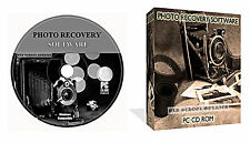 LOST Foto Foto immagini Recovery ripristino software + Data Recovery CD DISCO