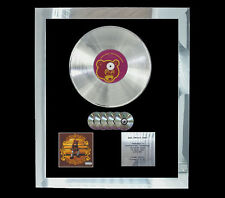 KANYE WEST COLLEGE DROPOUT   MULTI (GOLD) CD PLATINUM DISC FREE POSTAGE!!