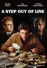 A Step Out Of Line,New DVD, Peter Lawford, Vic Morrow, Peter Falk, Bernard McEve