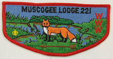 OA Lodge 221 Muscogee S11 Flap BRN arrow; CD; CB   [R346]