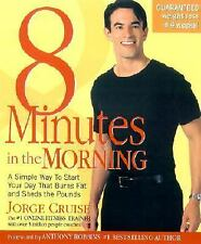 8 Minutes in the Morning Hardback Diet Exercise Motivation Weight Loss Strengt