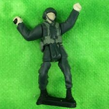 Galoob Army Gear Battle Squad Soldier Military German Infantry Grey Troops Lot T